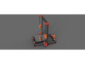 t-slot aluminum frame am8 tronxy p802 am8 anet a8 p802e p802m tronxy p802e