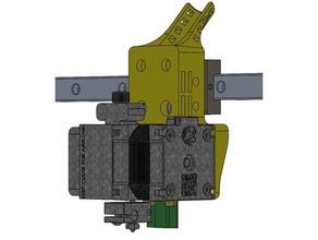 e3d hermera hermes monte ratto impianto v core pro direct drive estrusore e3d e3d hermes e3d hotend escher hermera monte ratto rig v core v core pro