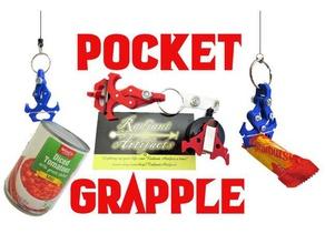 pocket grapple- toy mechanical claw grappling hook batman claw engineering fidget fidget toy grapple grappling hook mechanical pocket toy