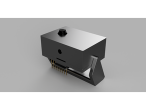esp32 cam case lid swivel arm esp32 esp32 cam esp32-cam case esp32cam box