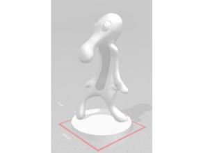 audacieux impétueux sculpter audacieux impétueux Bob l'éponge calmar