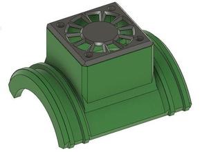 motor fan shroud rc 4075 motor