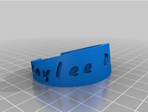 Kaylee pulseira personalizado
