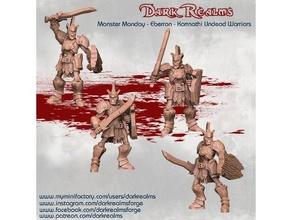 monstre Lundi Eberron karrnathi Mort vivant guerriers donjons dragons Eberron monstre Mort vivant