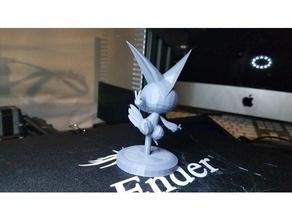 victini figure model pokemon pokemon figures toy victini