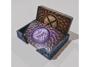 compact gloomhaven attack modifier deck tray boardgame boardgames boardgame accessories boardgame components boardgame inserts boardgame organizer frosthaven gloomhaven gloomhaven 3d gloomhaven dashboard gloomhaven element gloomhaven standee
