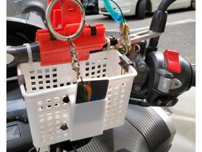 mini polvo cartão suporte fecho eclair gravata montagens mini polvo cartão motocicleta montagens