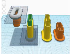 ikea lack filament guide 5 ptfe tubes