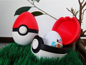 Pâques Balle 2020 Chocolat Pâques Oeuf fonctionnel caché articulé gentil mécanisme poussée pokeball Pokémon surprise