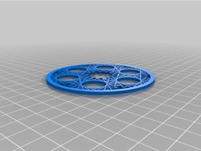 coasters 80 mm mod001-050 coaster math mathematics math art pelandintecno posavasos stem tecnologia tecnologiaeso