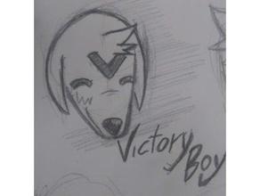 victoire chien tête blaka chien chienchien modèle tête petit victoire