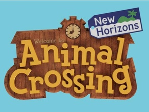 animal crossing sign logo animal animal crossing logo sign video game video games