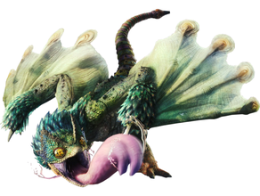 pukei-pukei dnd dnd miniature hunter monster monster hunter pukei pukei