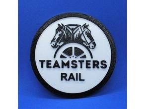 teamster coaster coaster rail railway teamsters union