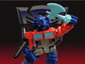 optimus Prime Transformer drucken optimiert Autobot optimus Prime Transformer Transformer g1