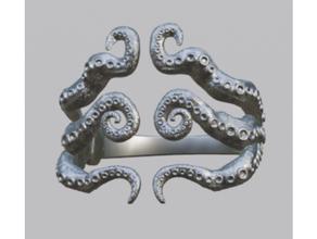 poulpe bracelet bague bracelet o4saken poulpe bague calamar tentacule
