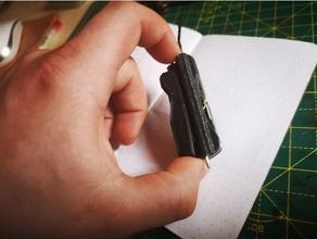 gerber moneda diez centavos escamas abrebotellas cordería personalizado moneda diez centavos edc acarreo día gerber multifuncional herramienta multiple aguja bolígrafo escala coser herramienta