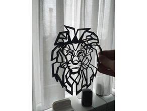 león cabeza 2d Arte 2d 2d Arte animal cabeza león león Arte cabeza león 2