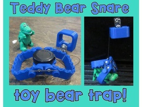 nounours ours piège jouet ours prendre piège ours ours prendre piège agiter jouet mâchoires porte clés farce dents jouet prendre piège
