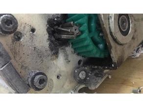 pro kgb 3510c carta trituratore Ingranaggio freecad Ingranaggio petg trituratore