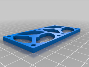 mounting plate double fan motor driver anycubic i3 mega