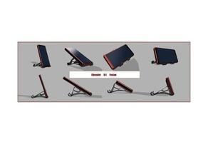 chevalet smartphone x4 fusion smartphone smartphone holder smartphone stand