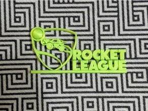 fusée ligue logo supporter nettoyer conception facile ligue logo octane impression remix fusée