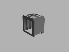 mk3 mk3s mmu2s small extruder cooler dual-fan version cooling extruder heatsink mk3 mk3s motor motor cooling prusa stepper stepper cooler stepper cooling stepper fan