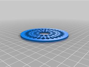 coasters mod351-400 blockscad coaster coasters math mathematical art math art posavasos