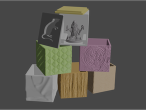 mesa miniatura cajas Heroforge compatible 28 mm 28 mm heroico escala caja caso funda personaje dnd mazmorras dragones calabozo dnd figura figuritas juego azar Heroforge heroico escala miniatura protector