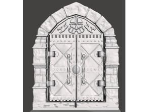 openforge 20 boss door cut-stone remix working hinge cutstone dd door openlock