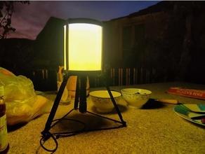 cámping ligero Linterna cámping diseño bricolaje diy Linterna funcional ligero multifuncional aire libre tc12 trunita