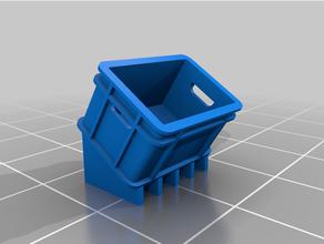plastico caja 1 escala 1 35 135 accesorios accesorios caja diorama maqueta militar miniatura modelo