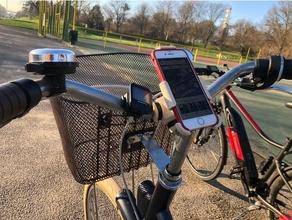 Unterstützung iPhone elops 520 Apfel Fahrrad Fahrrad montieren Fahrrad Fahrrad montieren Radfahren Zehnkampf iPhone iPhone 6 iPhone 6s iPhone 7 iPhone 8 Navigation Telefon