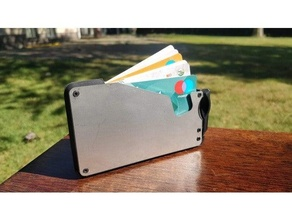 fantom wallet 3d printed wallet fantom fantom wallet hardcase wallet minimalist wallet slim wallet wallet