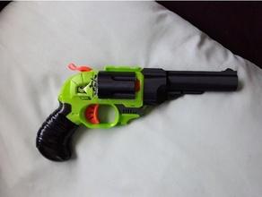 nerf doublestrike singled revolver barrels doublestrike nerf nerf mod nerfmod nerf doublestrike