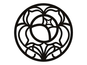 révolutionnaire fille Utena Rose logo chaîne fille clé porte clés révolutionnaire Utena