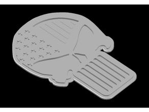 punisseur drapeau épingler plateau fermer clé crochetage serrurier épingler plateau punisseur crâne punisseur logo