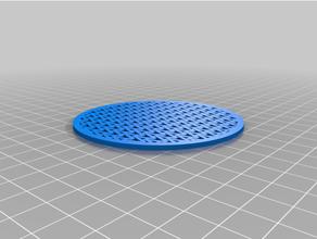 coasters 80 mm mod 401-450 blockscad coaster math mathematical art mathematics posavasos