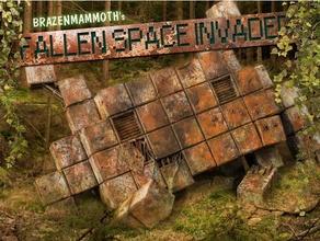 düşmüş Uzay istilacı terk edilmiş piksel piksel Sanat retro paslı dağılmak arazi Spaceinvader Uzay gemileri uzay gemisi star savaşlar yıldız gemisi Yıldız Savaşları Yıldız Savaşları lejyon arazi voksel savaş oyunları savaş oyunları arazi Warhammer