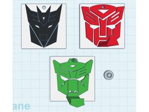 Transformer Logos Hut Kleiderbügel Autobot Decepticon Dinobot Autobot Decepticon Dinobot Transformer