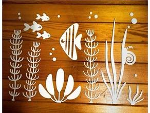 acquario truciolare arredamento decorazione vitinanka