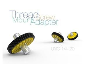 thread screw mount adapter unc 1 4-20 mount adapter photography thread screw unc 14-20