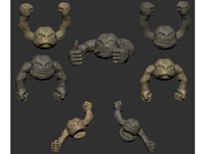 stonedudes creatura dnd dungeon draghi elementare golem mostro esploratore Pokemon tavolo