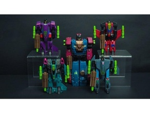 Transformator g1 Raubtiere Zubehör v2 Decepticon Decepticons Transformer Transformer g1