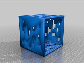 LED Minecraft cube