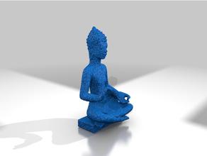 tailandês sentado Buda 10th ce