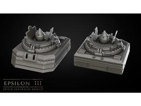 epsilon iii missile silo 2 28mm 30k 32mm 40k 40k warhammer dnd dungeon draghi prigione piastrelle miniatura 28mm missile scifi tavolo tavolo Giochi tavolo giochi tavolo