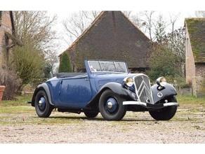 Citro tração roadster 1936 30s 40s 50s Citroen franquia carro tração ww2
