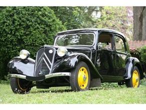 Citro tração 11 sedan 1938 30s 40s 50s Citroen francês exército francês carro alemão exército ww2